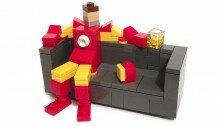 Диванные супергерои из LEGO