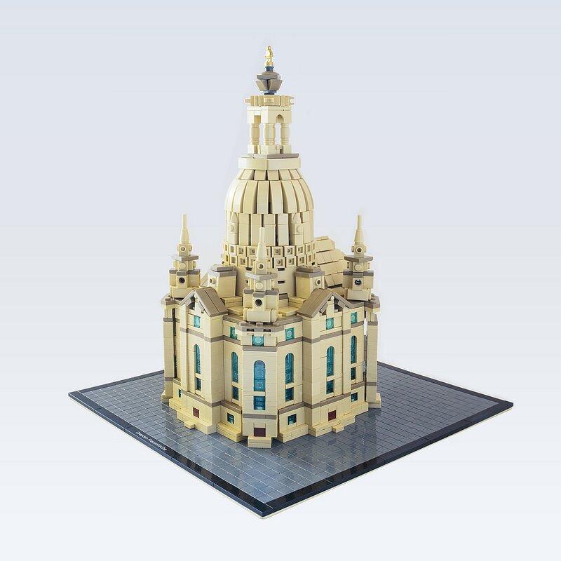 LEGO-миниатюра. Дрезденский Собор
