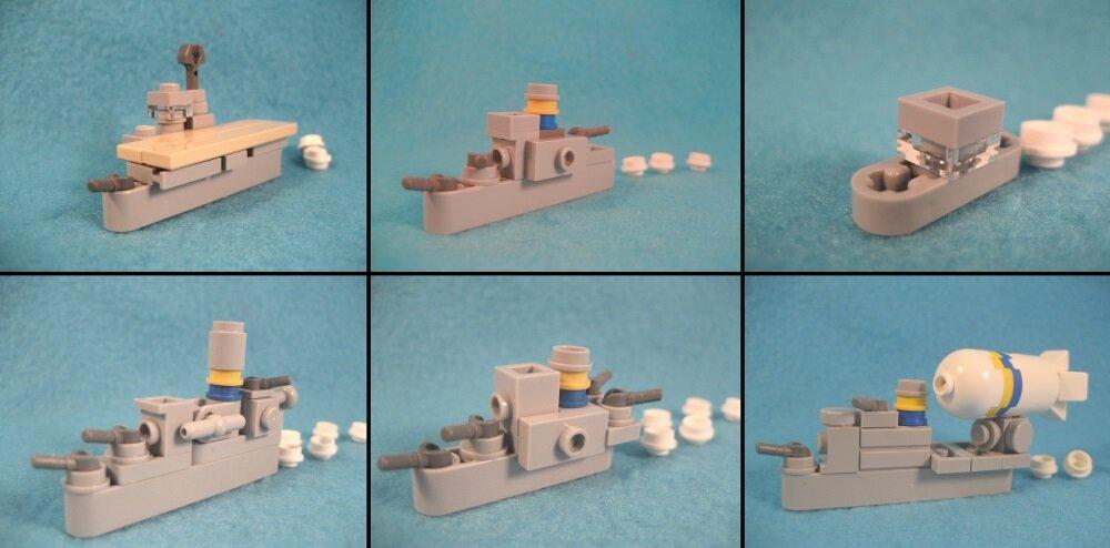 LEGO-миниатюра. «Пли!»