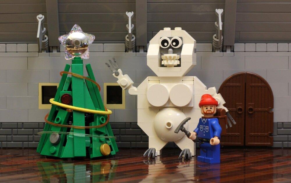 Чумовая троица от Джейсона: бобер, полярный медведь и Йети