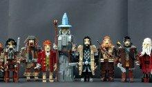 Гендальф, Бильбо и гномы из LEGO
